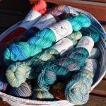 Spincycle Yarns bundle by Fig Tree Yarns