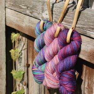 Araucania Botany Lace Purple Trio PW