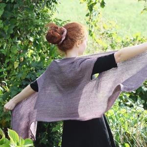 Mim purple sleeveless cardigan LW 2