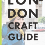 London Craft Guide - cover