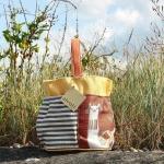 Atenti Bags Llama Orange Bucket stock PW