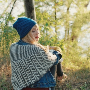 Ramble Shawl by Drea Renee Knits