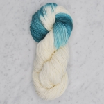 Swans Island - Dip Dyed - Little Dip - Natural:Verdigris